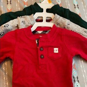 Carter's newborn shirts